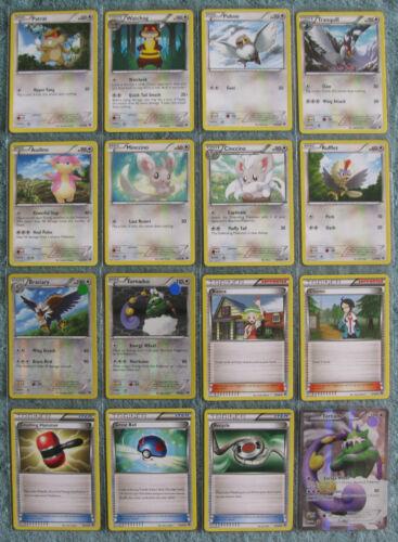 Uncommon /& Common Cards Part 4//4 Rare Pokemon TCG B/&W Emerging Powers Holo