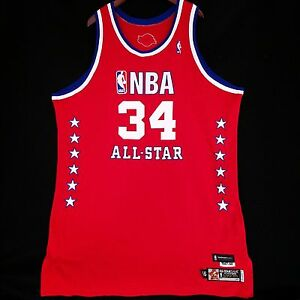 aa2570f6d023 100% Authentic Shaquille O Neal Reebok 2003 NBA All Star Game Pro ...