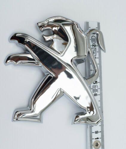 NEW Genuine original peugeot avant arrière HAYON BADGE COFFRE Lion Emblème Logo