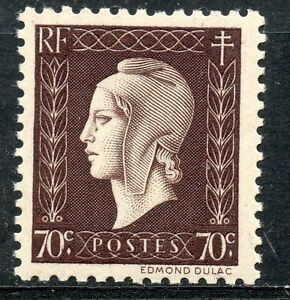 STAMP-TIMBRE-FRANCE-NEUF-N-687-MARIANNE-DE-DULAC