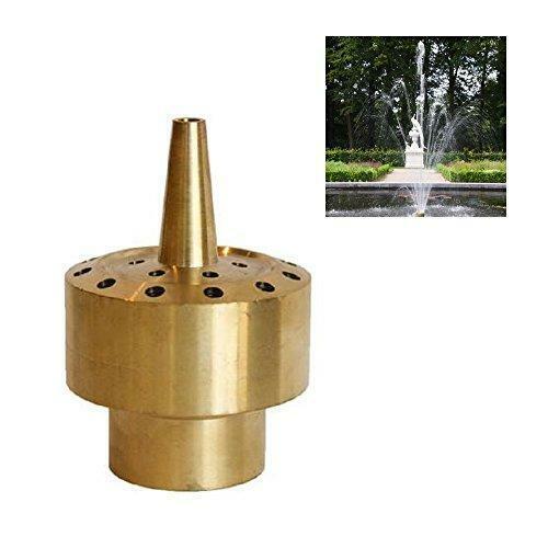 "1/"" DN25 Brass Column Fountain Nozzle Sprinkler Sprinkler Head Garden Pond"