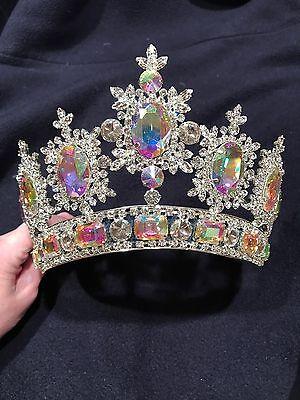 Sposabella Bridal SWAROVSKI CRYSTAL Miss Universe Style Crown