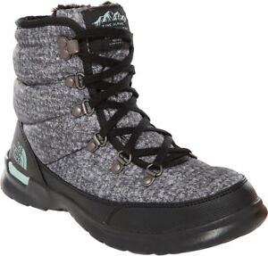 THE-NORTH-FACE-ThermoBall-Lace-II-T92T5L5QP-Insulated-Warm-Winter-Boots-Womens