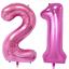 21st-Helium-Foil-Birthday-Anniversary-Balloon-32-034-Or-40-034 thumbnail 5