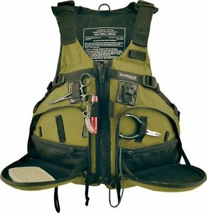 Fishing kayak life jackets vests stohlquist fisherman for Kayak fishing vest
