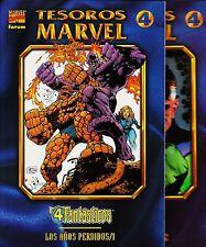 LOS 4 FANTÁSTICOS: Los años perdidos COMPLETA de 2 tomos de Tesoros Marvel FORUM