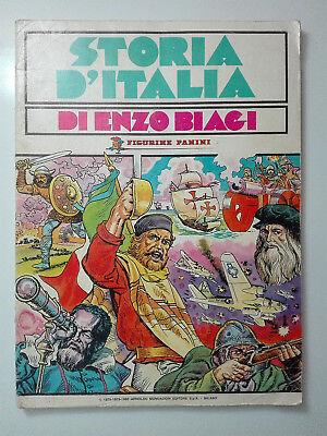 Storia d/'Italia Enzo Biagi Bustina Figurine Panini 1981