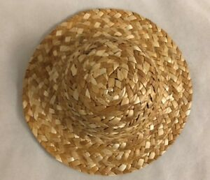 """6/"""" Hat Cap Straw Doll Clothes"""