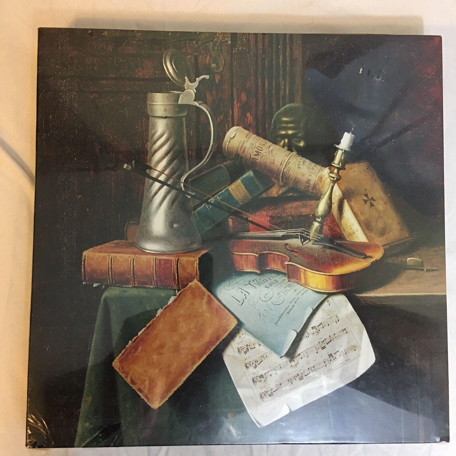 Vintage 1973 Springbok 500+ Pieza Rompecabezas Munich Bodegón, 1884 Sellado Nuevo