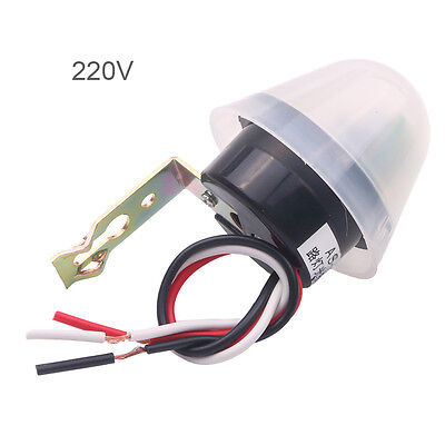 Photosensitive Adjustable Street Light Lamp Photoswitch Sensor Control 110V 10A