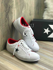 7a96655bb5dd87 Sneakers Men s Converse One Star Leather Low Top White Athletic Navy ...