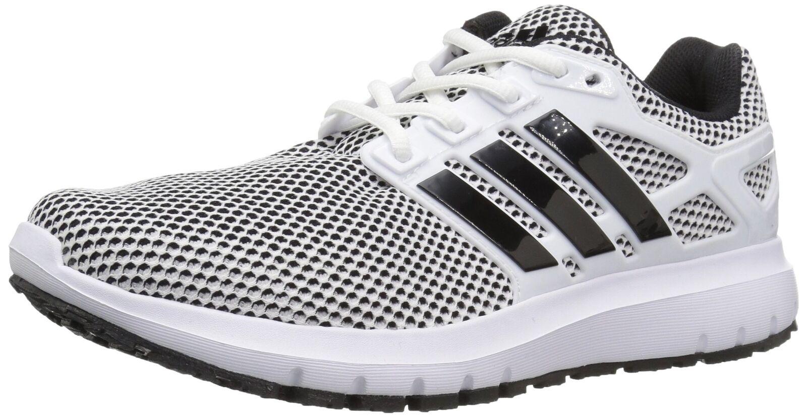 Adidas  Men's Energy Cloud m Running shoes White Black Black 10.5 M US