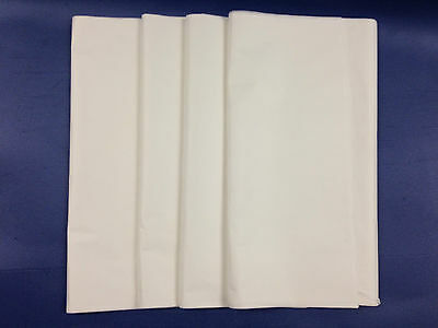 """50 LARGE SHEETS OF 500 x 750mm 20x30/"""" WHITE ACID FREE TISSUE WRAPPING PAPER"""