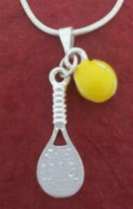 Tennis-Racquet-and-Ball-Necklace-charm-pendant-and-chain-Racket-jewellery