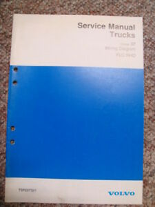Details about VOLVO TRUCK FLC WIRING DIAGRAM MANUAL ... RIGHT HAND on