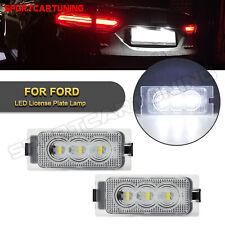 For 2008 2012 Ford Escape 2007 2014 Edge Full Led License Plate Light Lamp White