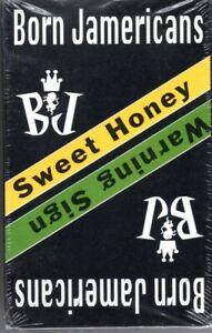 Born Jamericans Sweet Honey & Warning Sign Rap Cassette Tape Single New Sealed