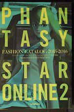 JAPAN Phantasy Star Online 2 Fashion Catalog 2015-2016 Oracle & Tokyo Collection