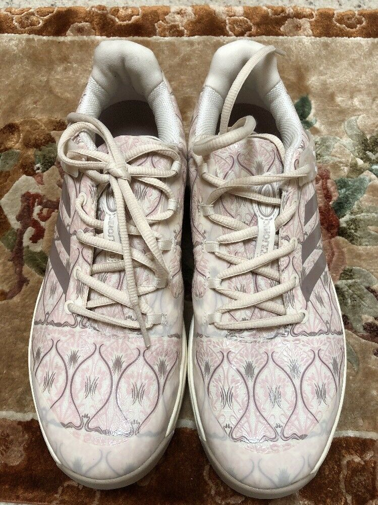 "ADIDAS WOMEN'S UBERSONIC 2 ""ART NOUVEAU"" TENNIS SHOES BB5819 Size 9"