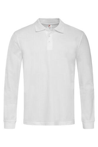 Stedman Baumwolle Einfarbig Schwarz Blau Grau oder weiß langärmliges Oberteil