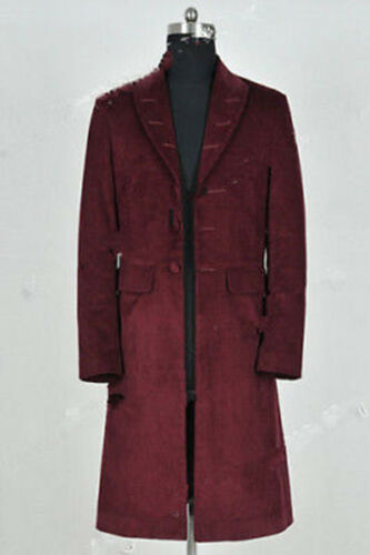 Doctor Who 4th Fourth Dr Cosplay Costume Trench Coat Party Costumes MM.684