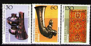 Stamps Armenia 1995 Sc496-8 Mi248-50 3v Mnh Museum Artifacts. Asia