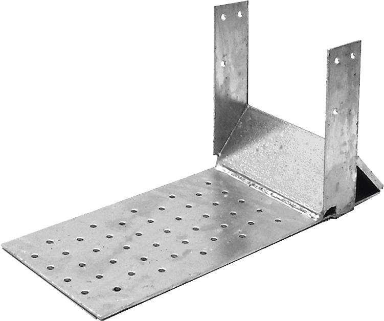 PROFI Sparrenfuß Holz 80X300 100X300 120X300 Neigung von 30° bis 60°