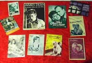 10-Programmhefte-zu-verschiedenen-Kinofilmen-u-a-James-Dean-Hildegard-Knef