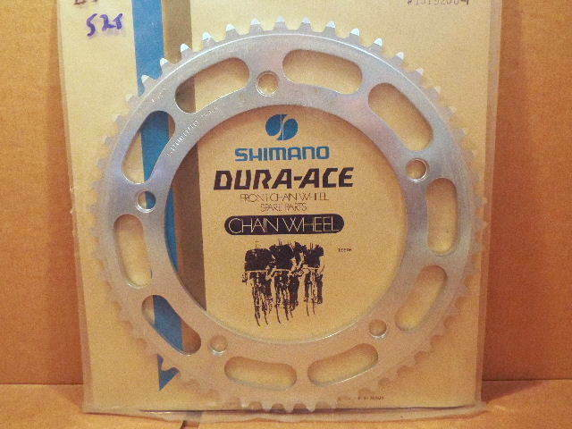 New-Old-Stock Dura-Ace EX Track Chainring...52T   151mm BCD   1 8  Teeth (NJS)