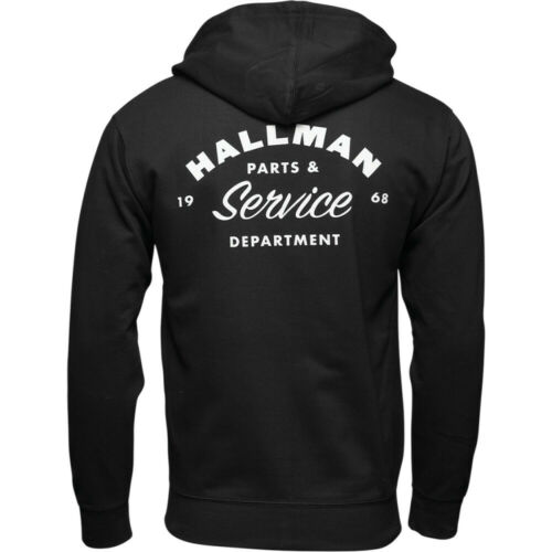 Thor-Hallman Fleece Jacket Choose Size Black