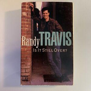 Randy Travis Is It Still Over (Cassette) Single