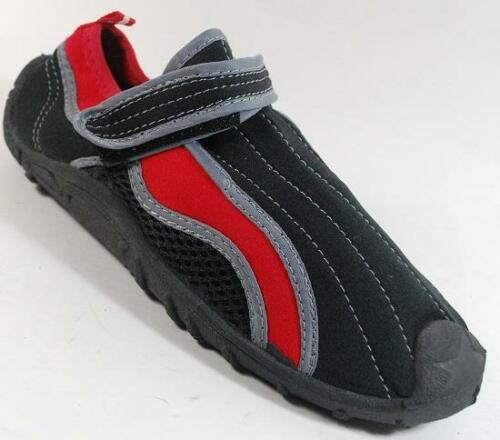NEW Boys Youth NORTHSIDE RED//BLACK Water Aqua Sandals Shoes SZ 11