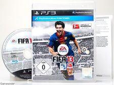 FIFA 13 / 2013 (FUSSBALL / BUNDESLIGA - dt. Version - °Playstation 3 Spiel°