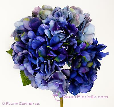 Blüte 25cm 60cm Hortensie pink-creme-farben Hydrangea Kunstblume Seidenblume