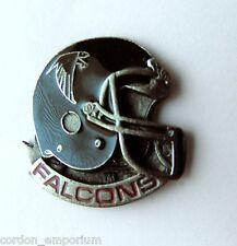 ATLANTA FALCONS NFL FOOTBALL HELMET EMBLEM LOGO LAPEL PIN BADGE 1 INCH