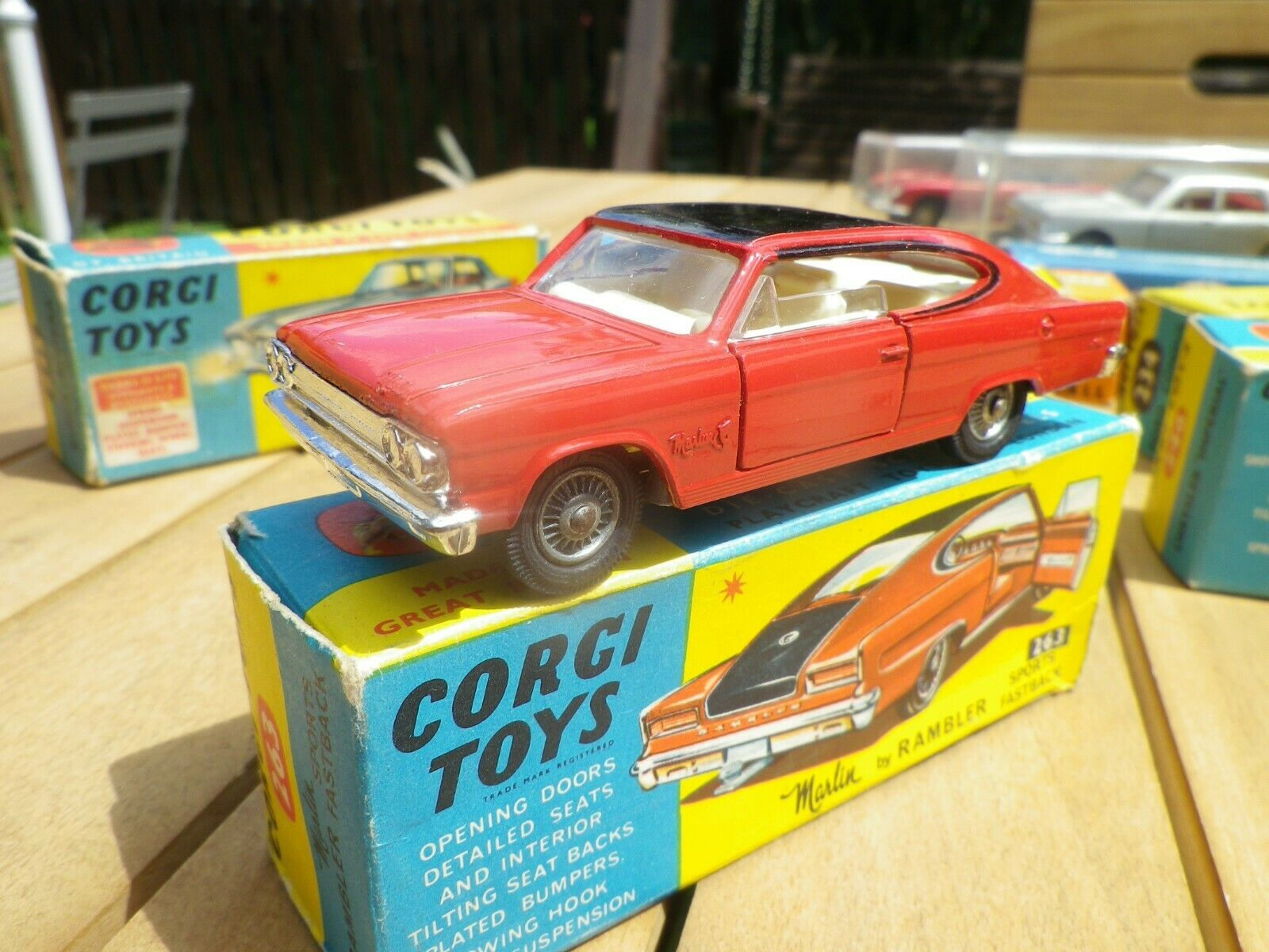 Corgi toys 263 marlin rambler mint in its original box