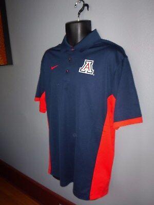 Men/'s Nike Ten Vols Elite Coaches Dri-FIT Performance Polo Shirt MENS LARGE