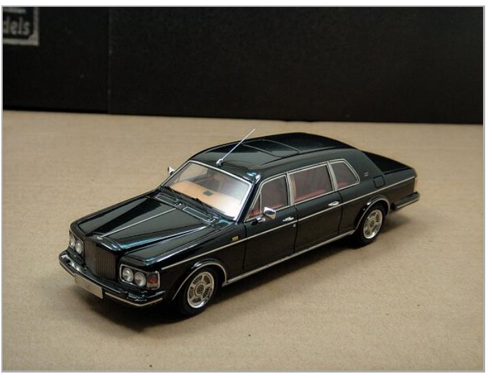 1 43 Bentley Touring Limusina 1994 Negro Negro Negro 61db56