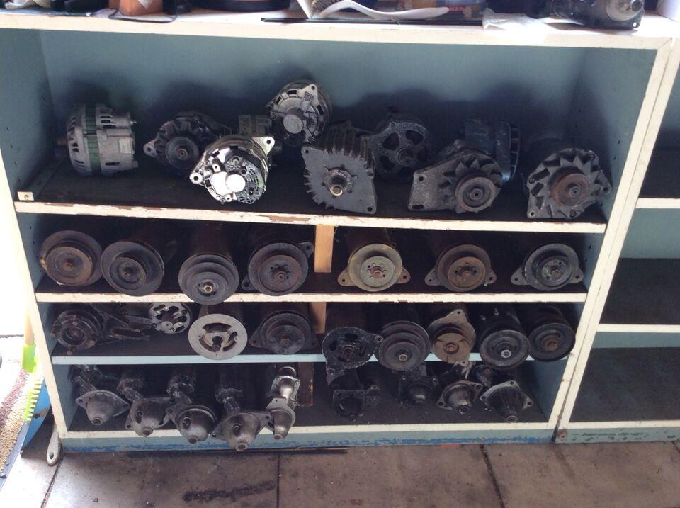 Starter Generator Dynamoer, Boch Lucas Delco m.m