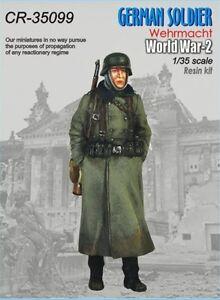 CORSAR REX MINIATURES WWII GERMAN SOLDIER WEHRMACHT #17 Scala 1/35 Cod.35099