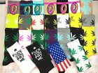 Variety style options Unisex long Socks Donuts&Weed Leaf Plantlife Skateboard