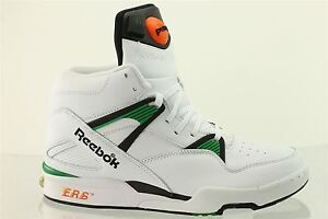 4873c2392e3 Reebok Pump Omni Zone Retro Mens Boots V60502 Classic White Trainers ...