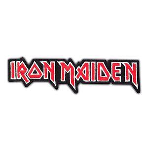 iron maiden heavy metal rock music band logo embroidered iron on rh m ebay com Nu Metal Band Logos Metal and Punk Band Logos