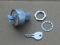 Ignition Start Switch W/ Plug In Back For Ih International 185 Cub Lo-boy