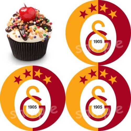 Galatasaray Istanbul Fußball Tortenaufleger Party Deko Muffin Fanartikel neu
