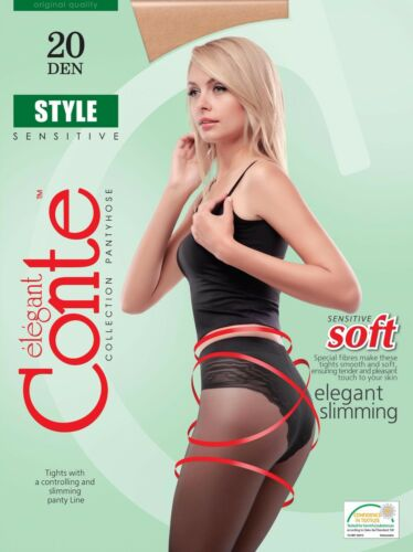 CONTE Stile Collant 20 DENDimagrante Collant con elegante top