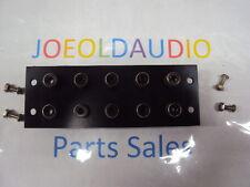 Kenwood KA 2500 Original RCA Jack. Replaces Phono 1 & 2 ,Aux, Tape,Tuner. Tested