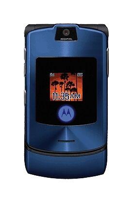 Motorola Razr V3i Blue Unlocked Mobile Phone For Sale Online Ebay