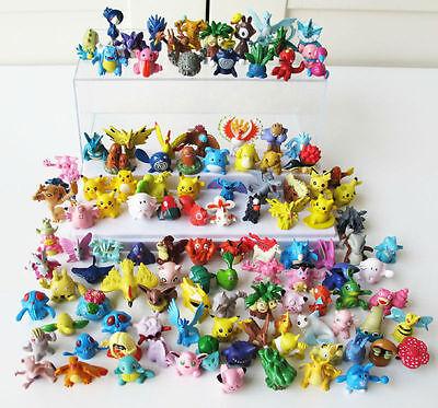 "Pokemon Monsters Japan Anime 1"" MINI Figures Toy Gift Lot of 40pc Random"