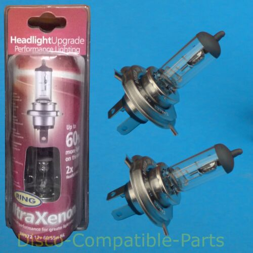 Land Rover Defender Ring Ultra Xenon Headlight Bulbs 60/% Brighter